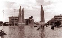 น้ำท่วมกรุงเทพ ปี2485 (หาดูยากนะ)