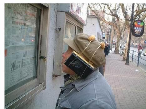 วิธีนี้ฉลาดล้ำ ไม่ต้องเมื่อยมือถือวิทยุแนบหู มัดติดกับมันไปเลย!