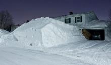 มาช่วยโกยหิมะหน่อย @ Quebec city Canada