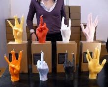 # เทียนนิ้วมือ Fingers Candles #