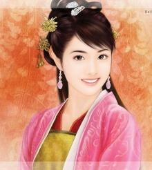 สาวสวย ในชุดจีนโบราณ 1