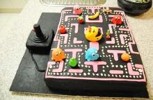 Pac man cake เค้กน่ารัก สำหรับคนชอบเกม แพคแมน