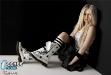 Avril Lavigneสุดน่ารัก