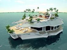 บ้านลอยน้ำ สุดหรู ออร์ชอส ไอส์แลนด์ มูลค่า 206 ล้าน