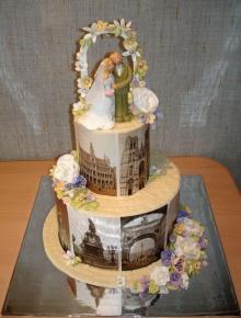 เค้กแต่งงานไม่กล้ากินเลย