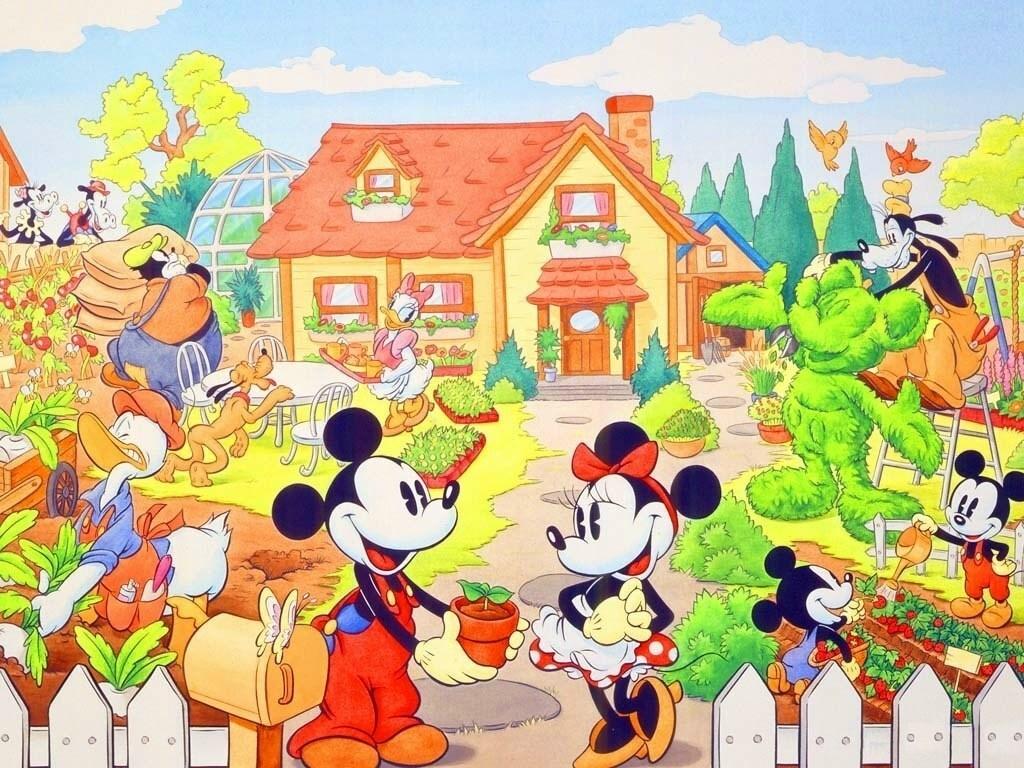 Disney Wallpaper ...Vol.(2) ภาพพื้นฉากหลัง Walt Disney สวยๆน่ารัก ชุดที่ 2. M213524