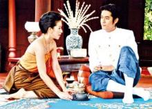 ดาราละครคู่ ชาย-หญิง ใส่ชุดไทยโบราณ