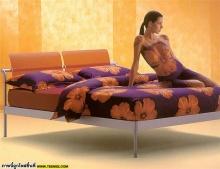 ระวัง ผ้าปูที่นอนยี่ห้อนี้ สีตก