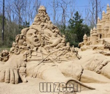 Sand Sculpture Festival 2009 @Japan (1)