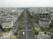 champs elysees paris (ถนนชองป์เซลิเซ่)