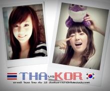 12 อันดับ เกาหลี vs ไทย สาวไหนน่ารักโดนใจสุดขีด !!!