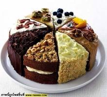 เค้กสีสันสดใสน่าทานมาก