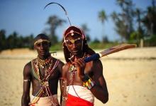 กีฬาคริกเก็ต ในแบบฉบับของ ชนเผ่ามาไซ