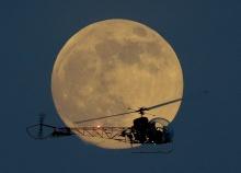 ซุปเปอร์มูน 2013 ปรากฏการณ์ ดวงจันทร์ใหญ่