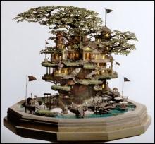 'บ้านจิ๋วบนต้นบอนไซ'