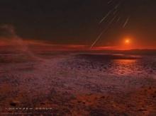 เวลาเช้า ณ ดาวอังคาร