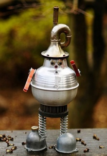 หุ่นกระป๋อง..!!! (ไอเดียจากของเหลือใช้)