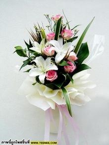 ช่อดอกไม้สวย ๆค่ะ