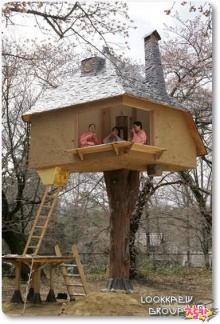 ๏~* Japanese Tree House *~๏