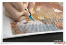 Unusual Art Pen Strock Painting Art