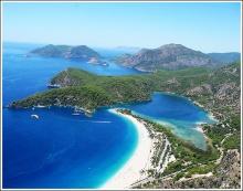 Ölüdeniz หาดที่สวยที่สุดในตุรกี