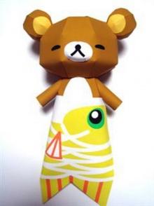 รวมมิตรตุ๊กตากระดาษพับ