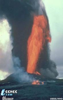 มาดูภูเขาไฟระเบิด