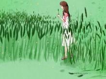 BG การ์ตูน เศร้า เหงา แต่สวย