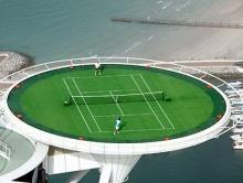 สนามเทนนิสที่ทั้งสูงและเสียว ^__^