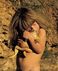Little Girl ~ Animal Friend