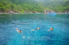 เกาะนางยวน ความนิ่งสงบของผืนน้ำสีฟ้า NANG YAUN ISLAND
