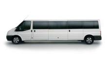 Ford Transit XXL รถตู้ยาวที่สุดในโลก