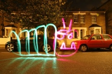 Amazing Light Graffiti