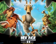 * ~ Ice Age 3 : Dawn of the Dinosaurs ~ *