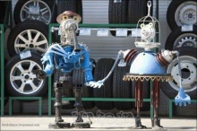 Scrap Parts Robots