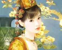 ภาพวาดสาวจีนสุดสวย I