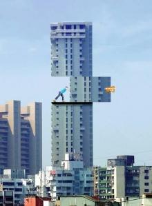 สุดยอดป้ายโฆษณาบนตึก