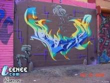 Graffiti ศิลปะบนพื้นผนัง