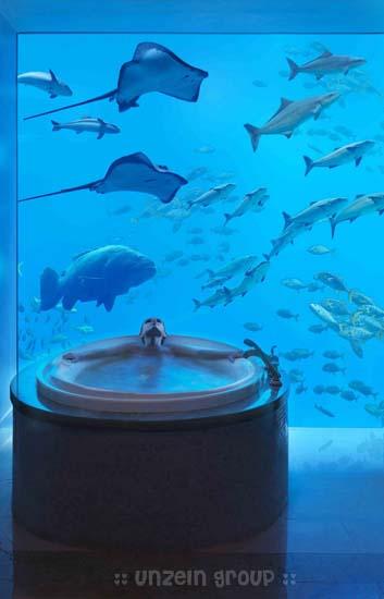 hotels under water in dubai. Underwater Hotel in Dubai