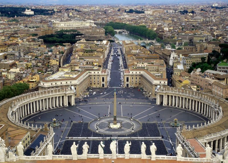 Plaza San Pietro Vatican City