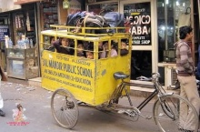 Indian School Bus