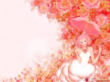 - Girl & Flower ( 2 ) -