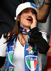 กองเชียร์...อิตาลี!!!