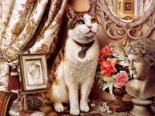 ภาพวาดแมวน่ารัก II