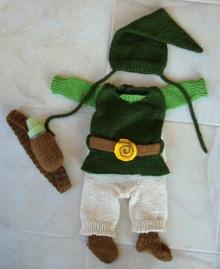 ชุด Link จาก Zelda สำหรับ หนู ๆ น่ารักมาก ๆ