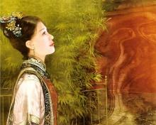 ภาพวาดสาวจีนสุดสวย II