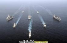 มาดู !!! การซ้อมรบ ของหน่วยทหารเรือ