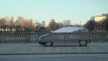 รถยนต์ล่องหนของ Mercedes Benz