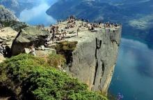 ผาสูงสุดเสียว Pulpit Rock ประเทศนอร์เวย์