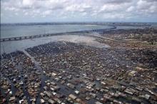 สลัมลอยน้ำ ที่ไนจีเรีย